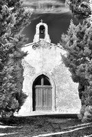Chapel with Cypress Trees, Villetritouls (IR)