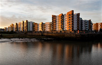 First Light hits Portishead