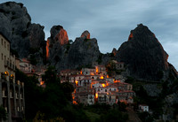 Castelmezzano at dusk (2)